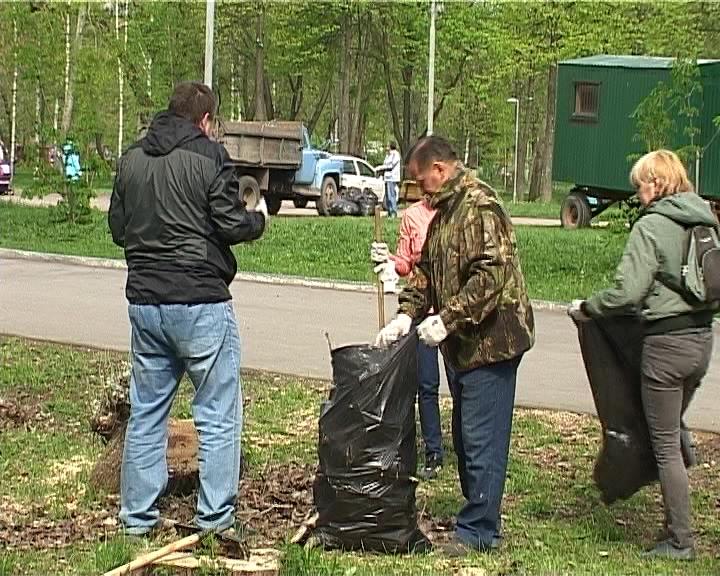 Общегородской субботник  в Кирове