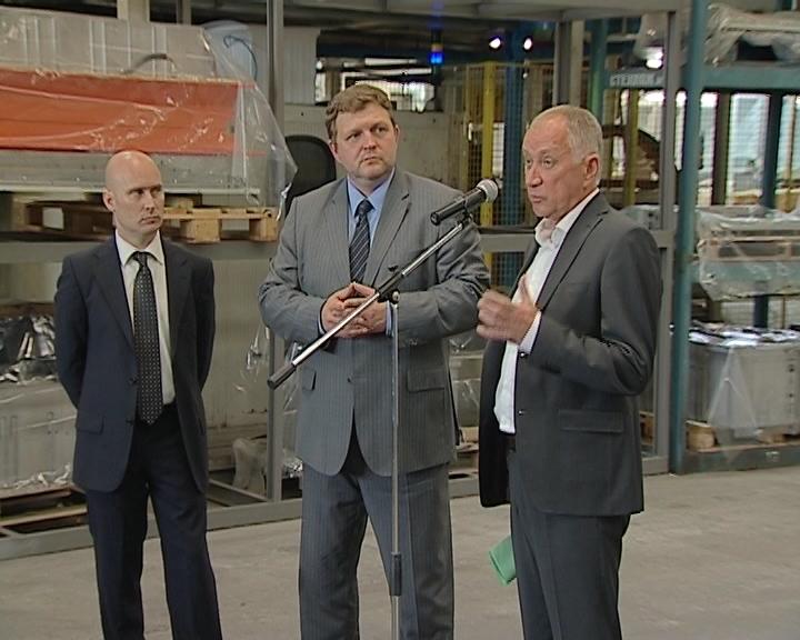 Глава региона Никита Белых посетил кировское предприятие