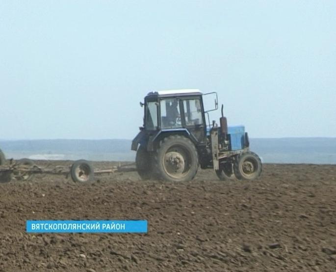 Сев в селе Ершовка Вятскополянского района