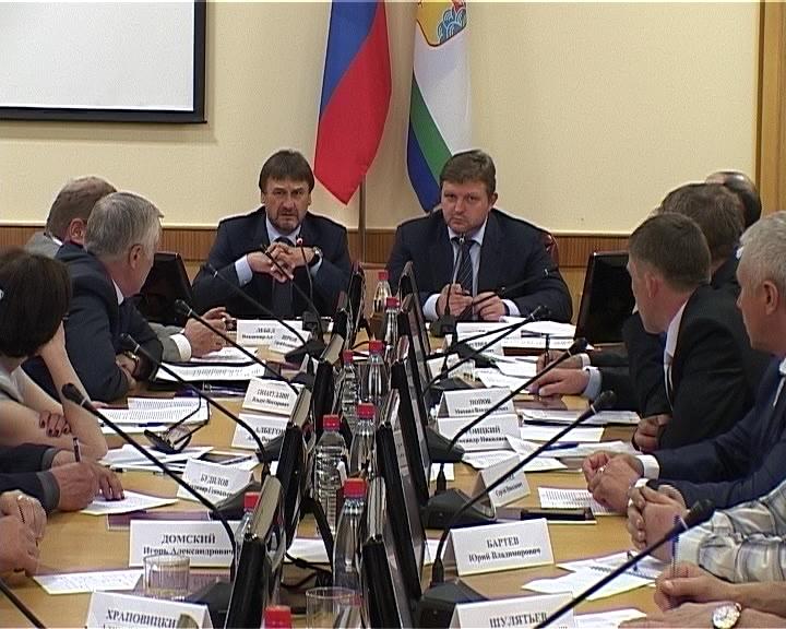 Совещание по охоте и рыбалке с участием заместителя министра природных ресурсов и экологии РФ Владимира Лебедева