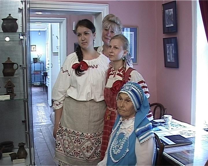 «Дворянская» игрушка в доме-музее Салтыкова-Щедрина