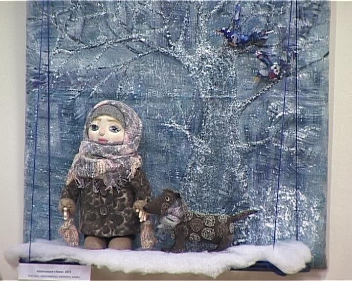 Выставка авторской куклы Татьяны Мамоновой