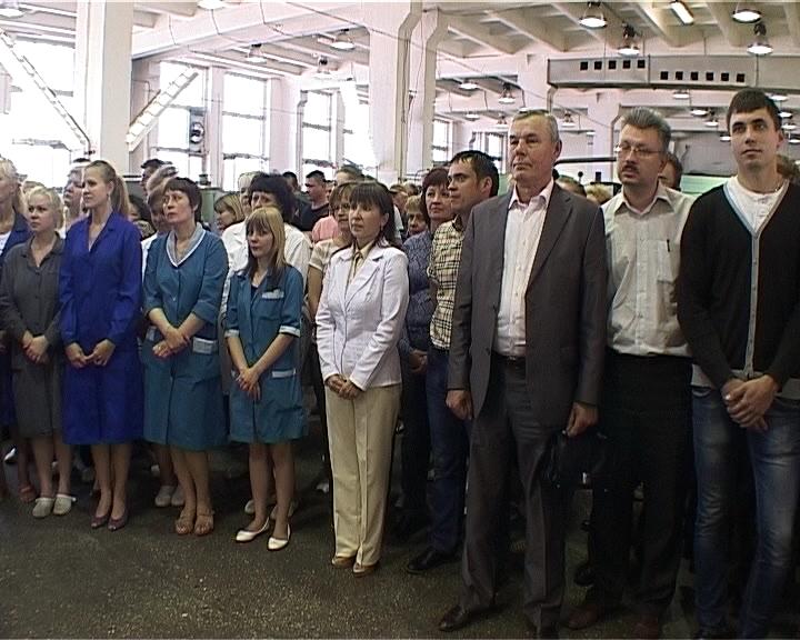 Глава региона Никита Белых посетил завод