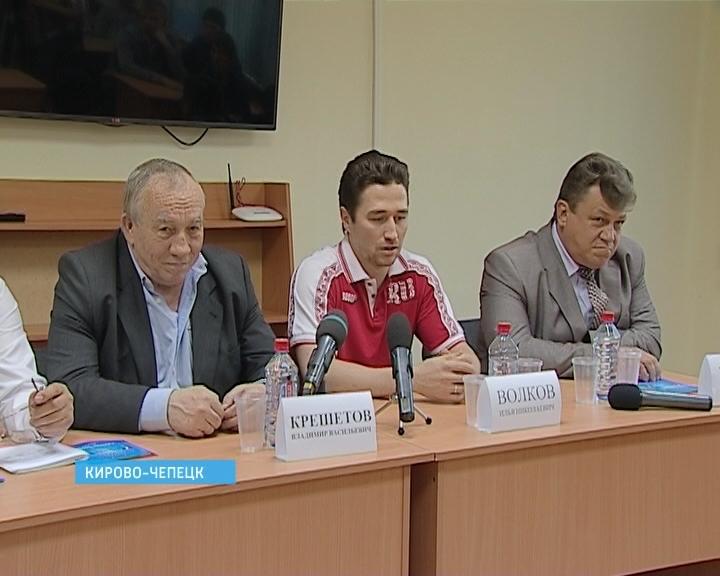 Российский cледж-хоккеист Илья Волков приехал погостить в родной Кирово-Чепецк