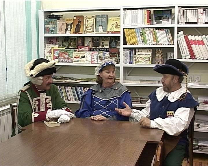 Сказочные гости в библиотеке имени Герцена