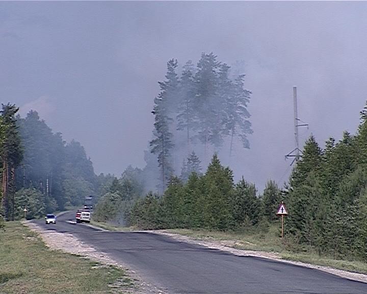Особый противопожарный режим в Кировской области