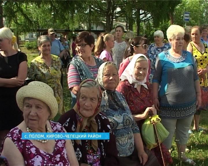 Новый ФАП в селе Полом Кирово-Чепецкого района
