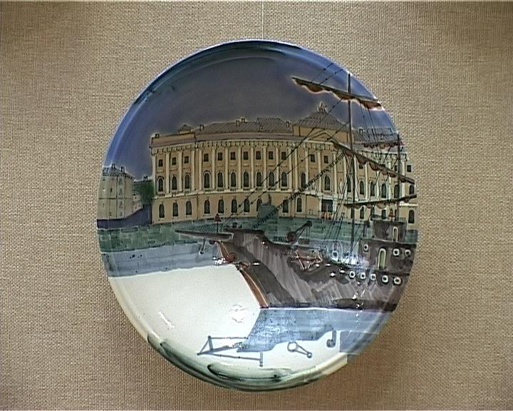 Выставка художника-керамиста из Петербурга Владимира Гориславцева