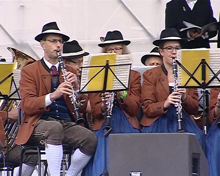 Австрийский духовой оркестр «Солингер» в Кирове