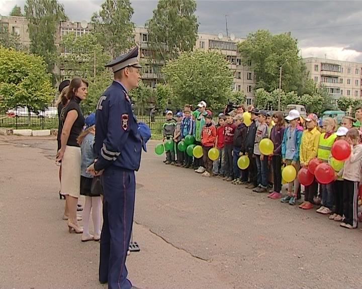 Автогородок у школы № 31 города Кирова