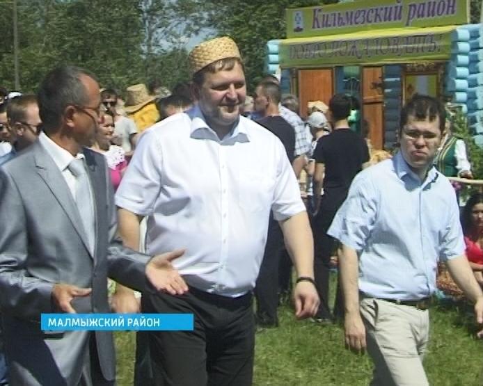 Никита Белых с рабочим визитом посетил Малмыжский район