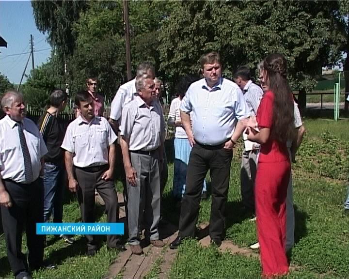 Н. Белых в Пижанском районе
