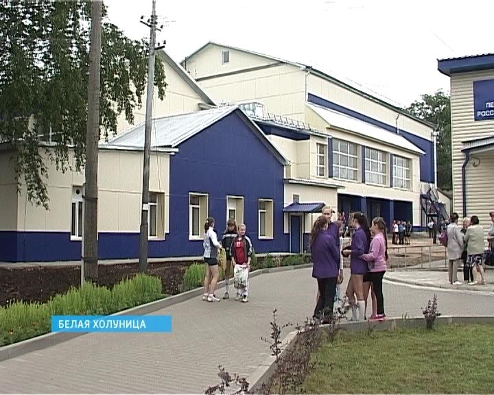 Спортивная школа в Белой Холунице