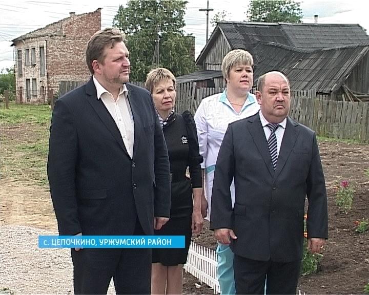 Никита Белых посетил Уржумский район