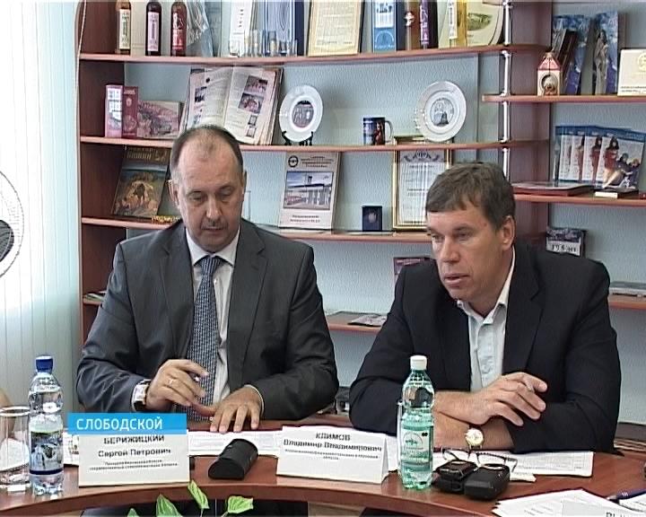 Встреча Владимира Климова с жителями города Слободского