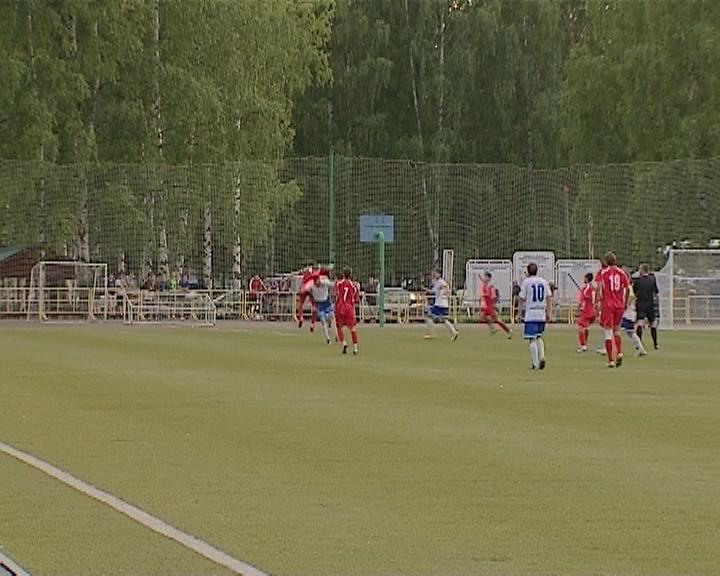 Кубковый матч кировского «Динамо» против йошкар-олинского «Спартака»