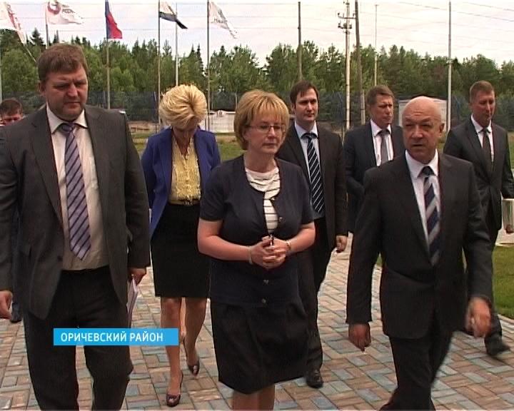 Министр здравоохранения Вероника Скворцова посетила биомедицинский комплекс