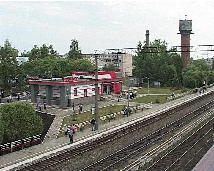 Открытие нового вокзала на станции Лянгасово