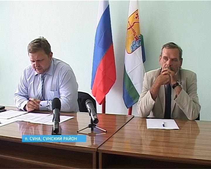 Рабочий визит главы региона Никиты Белых в Сунский район