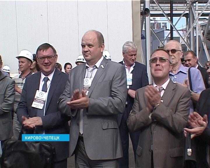 Открытие парогазовой установки в Кирово-Чепецке