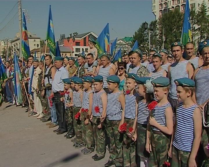День ВДВ в Кирове