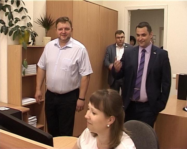 Глава региона Никита Белых посетил филиал