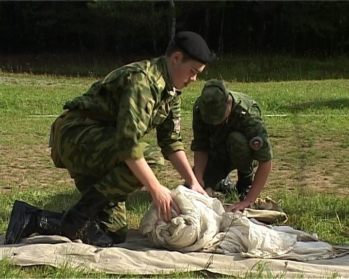 Военно-спортивный лагерь для подростков «Защитник Отечества»