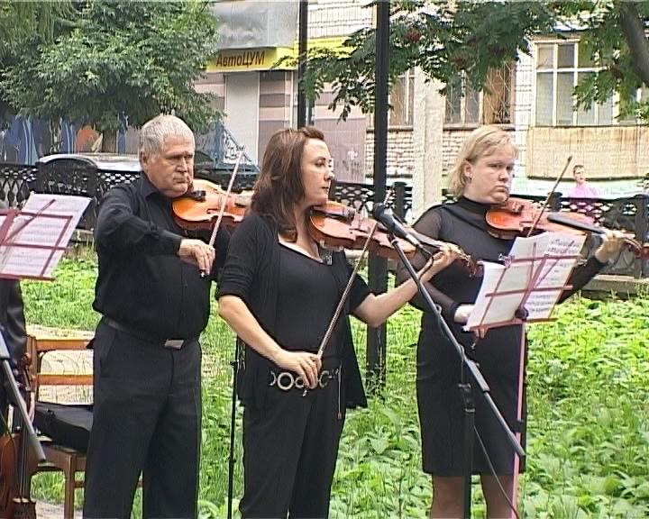 Концерт в рамках проекта «Творчество молодых педагогов»