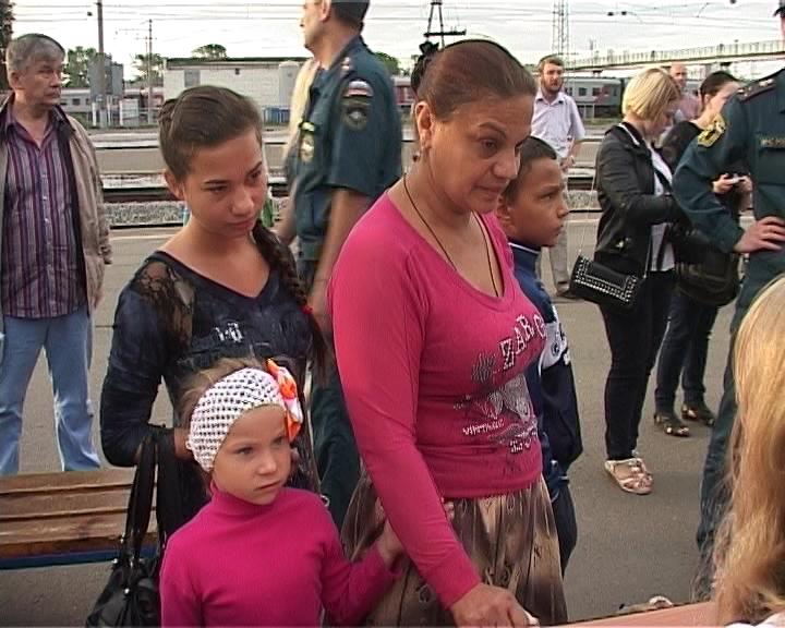Киров встречает беженцев