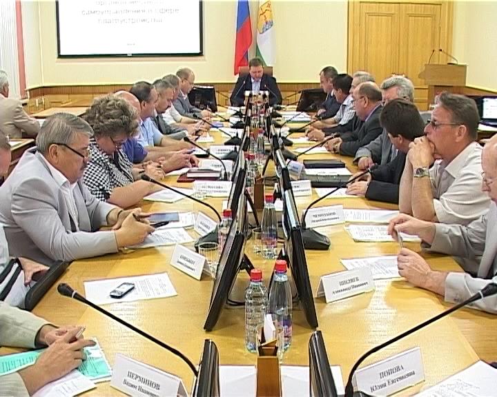 Заседание правительства по вопросам благоустройства