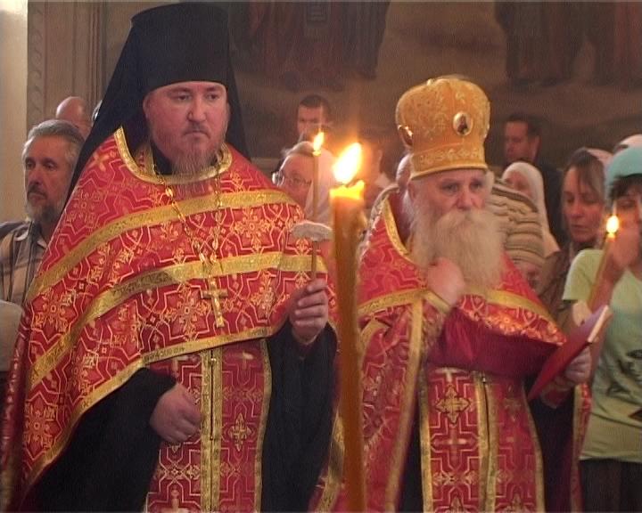 Встреча иконы с частицей мощей святого великомученика и целителя Пантелеимона