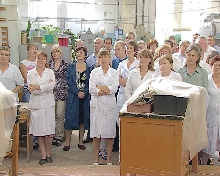 Никита Белых на заводе «Авитек»