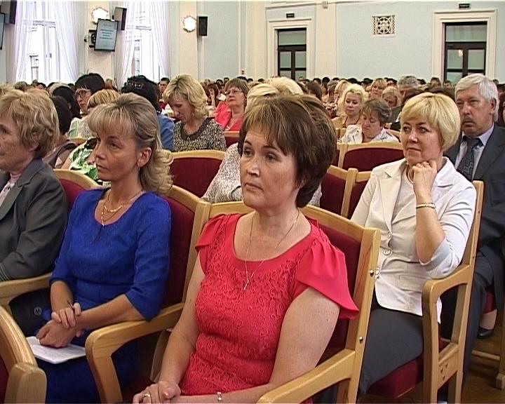 Совещание по вопросам развития региональной образовательной системы с участием Министра образования и науки РФ Дмитрия Ливанова