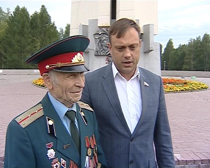 87-й день рождения отметил ветеран ВОВ Виктор Иванович Новоселов