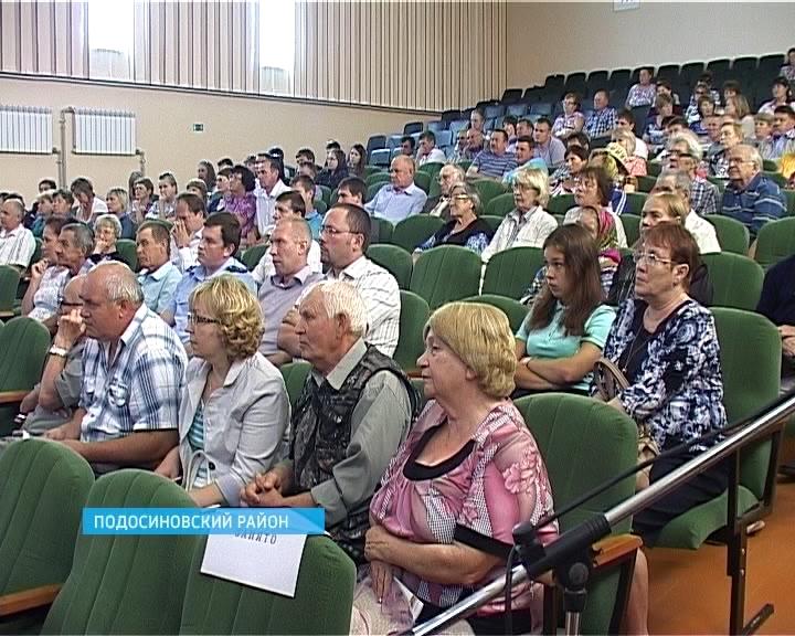Никита Белых посетил самые северные районы области - Лузский и Подосиновский