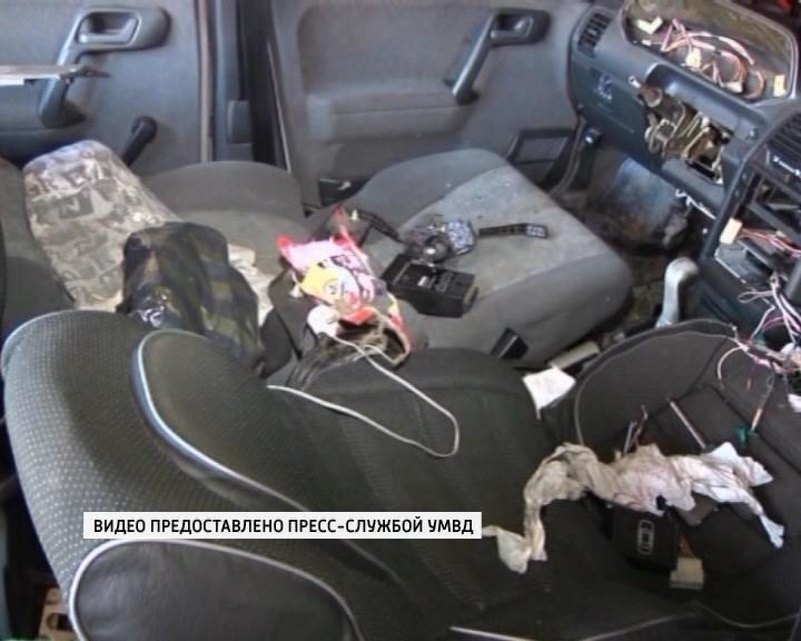 УВД об угонах и кражах авто