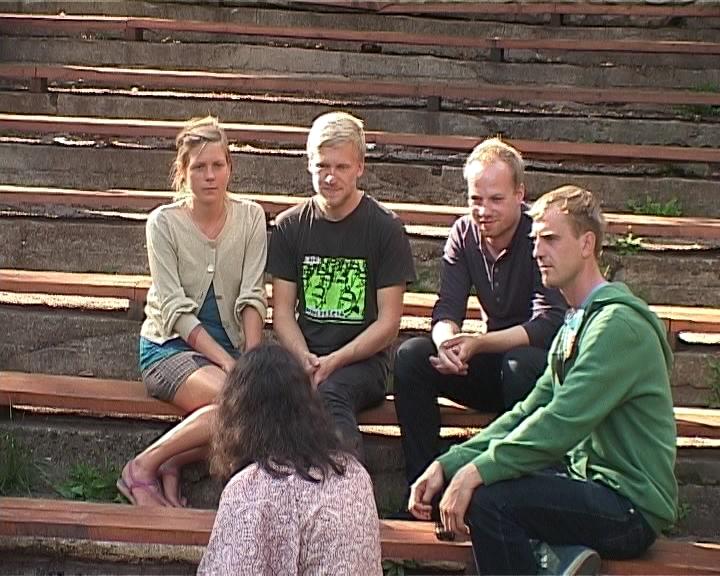 Эстонские музыканты в Кирове