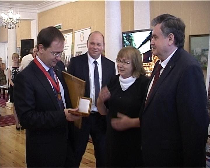 Министр культуры РФ Владимир Мединский в Кирове