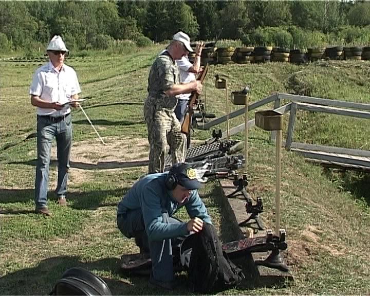 Соревнования по пулевой стрельбе в Кстинино