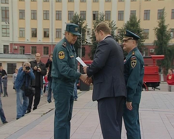 Визит замминистра МЧС России Владимира Артамонова
