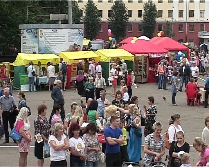 «Вятская ярмарка» на Театральной площади