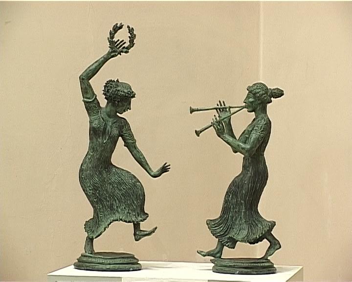 Выставка скульптора Леонида Баранова