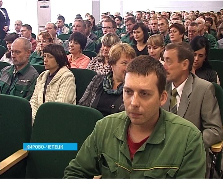 Белых на встрече с жителями Кирово-Чепецка
