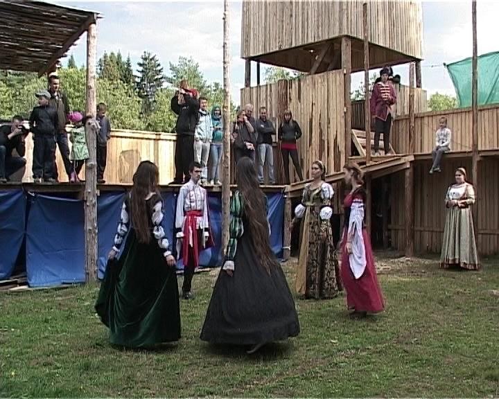 Фестиваль исторической реконструкции в Порошино