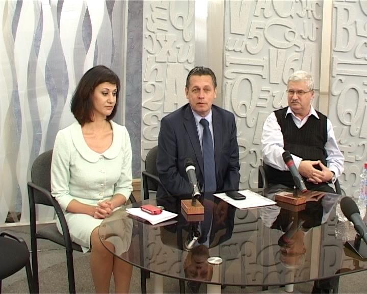 Заместитель генерального директора ВГТРК Рифат Сабитов на ГТРК «Вятка»