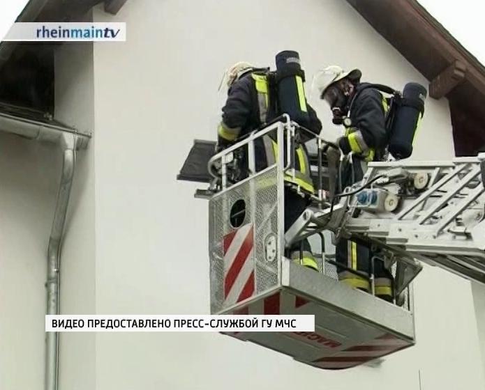 Обмен опытом с немецкими пожарными