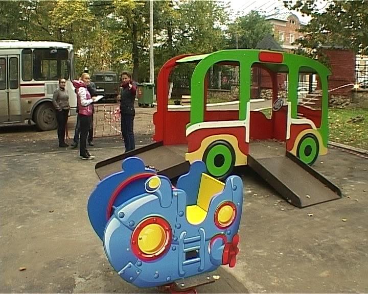 Детская площадка для инвалидов