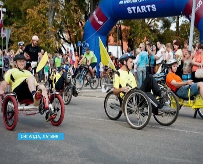 Велопробег в Латвии