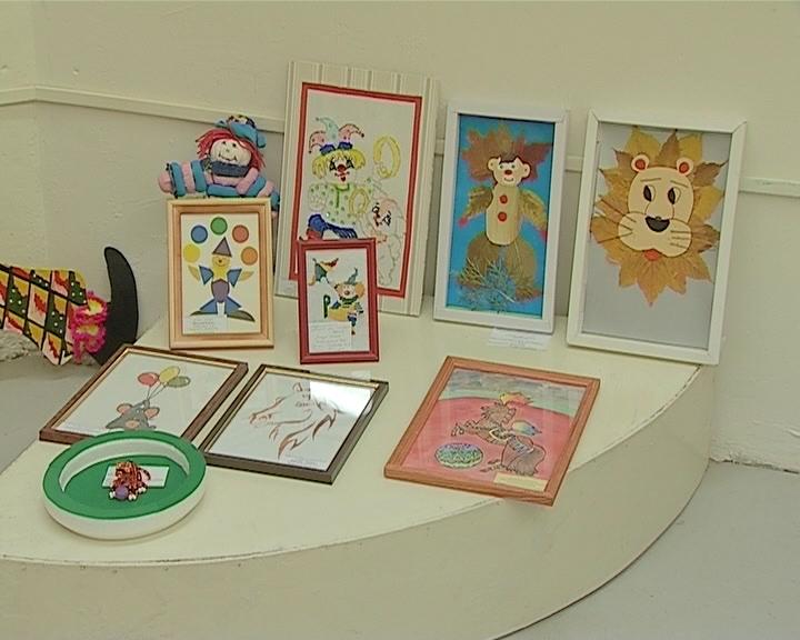 Выставка «Цирк глазами детей»
