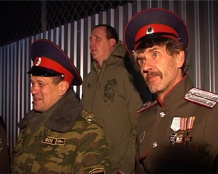 Отправка кировских казаков в Луганск